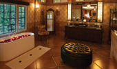 Spacious bathrooms with bathtub - Coorg Wilderness Resort