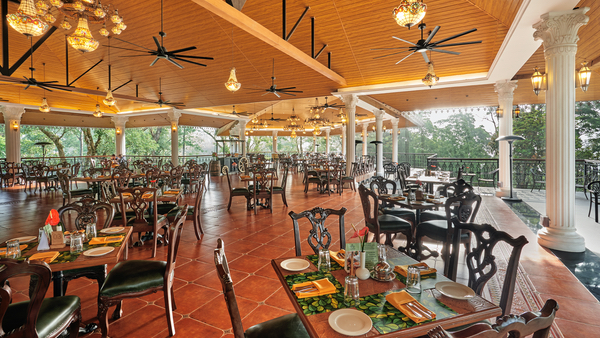 Habba Fine dining restaurant Coorg Wilderness Resort
